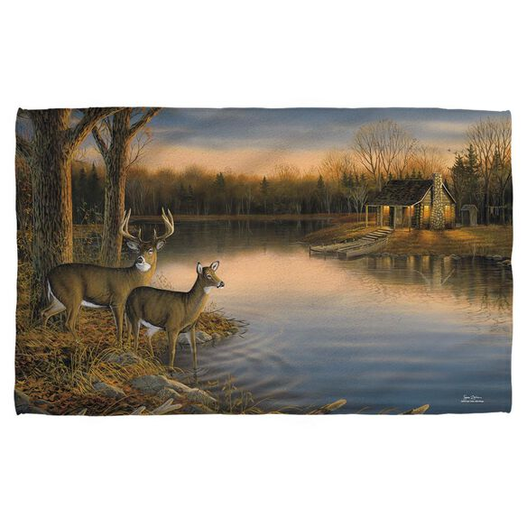 Wild Wings Tranquil Evening 2 Face Hand Towel
