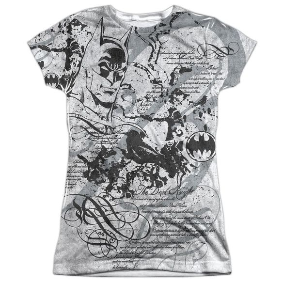 Batman Tale Of The Dark Knight Short Sleeve Junior 100% Poly Crew T-Shirt