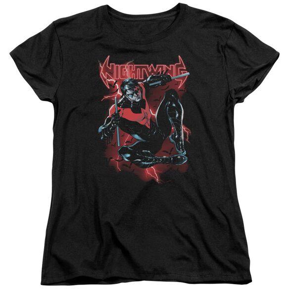 Batman Lightwing Short Sleeve Womens Tee T-Shirt