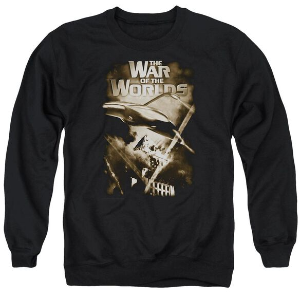 War Of The Worlds Death Rays Adult Crewneck Sweatshirt