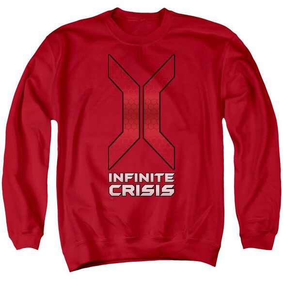 Infinite Crisis Title Adult Crewneck Sweatshirt