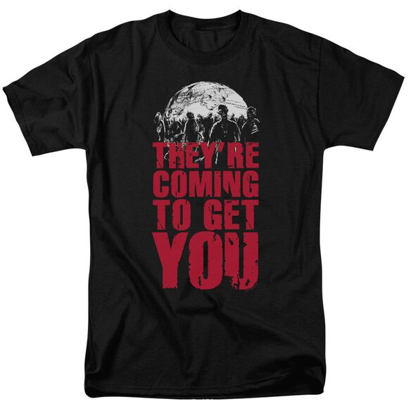 They're Coming To Get You Short Sleeve Adult T-Shirt