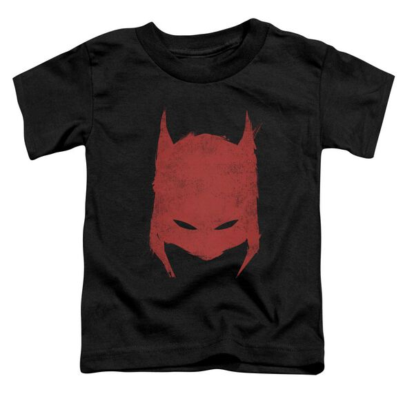 Batman Hacked & Scratched Short Sleeve Toddler Tee Black Sm T-Shirt