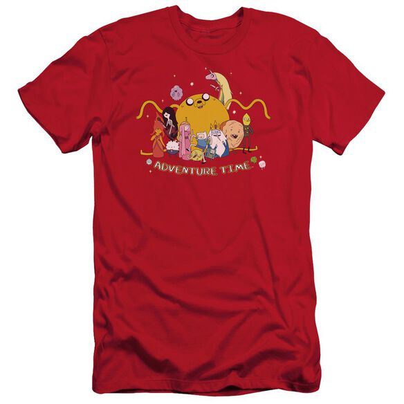 Adventure Time Outstretched Short Sleeve Adult T-Shirt
