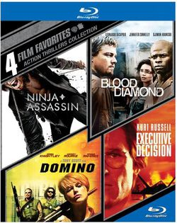Image of 4 Film Favorites: Action Thrillers