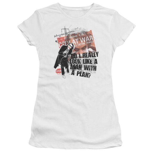 Dark Knight Spontaneous Short Sleeve Junior Sheer T-Shirt