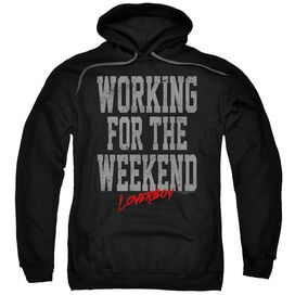 Loverboy Working Adult Pull Over Hoodie
