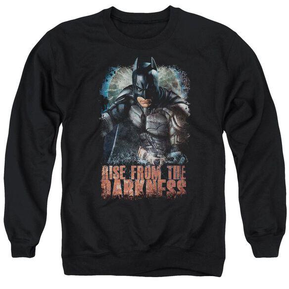 Dark Knight Rises Rise From Darkness Adult Crewneck Sweatshirt