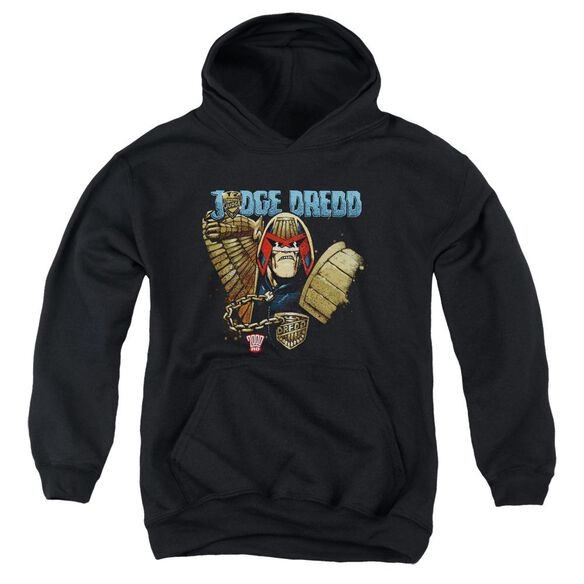 Judge Dredd Smile Scumbag Youth Pull Over Hoodie