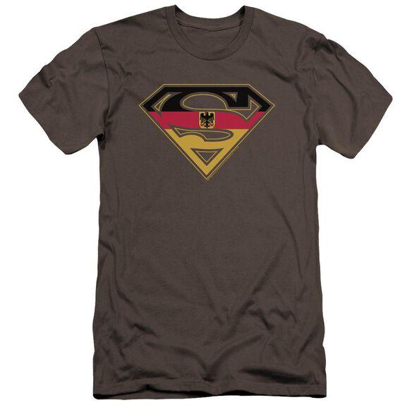 Superman German Shield Premuim Canvas Adult Slim Fit