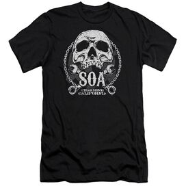 Sons Of Anarchy Soa Club Short Sleeve Adult T-Shirt