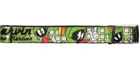 Looney Tunes Marvin the Martian Tiles Wide Mesh Belt