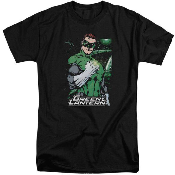 Jla Fist Flare Short Sleeve Adult Tall T-Shirt