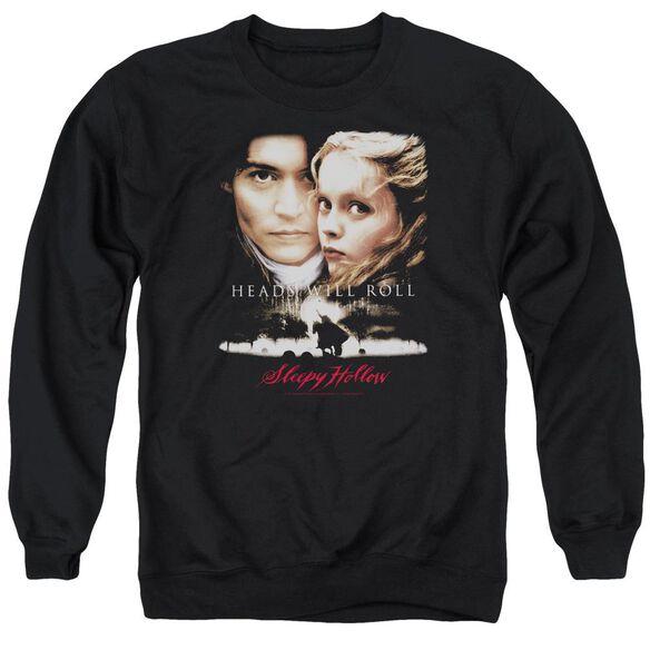 Sleepy Hollow Heads Will Roll Adult Crewneck Sweatshirt