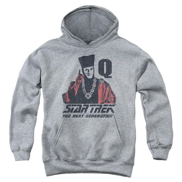 Star Trek Q Point Youth Pull Over Hoodie