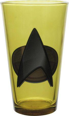 Star Trek Next Generation Insignia Pint Glass Set