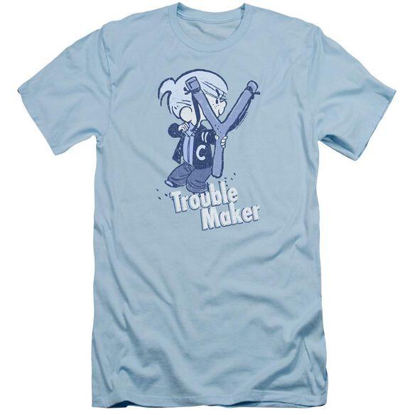Dennis The Menace Trouble Maker Short Sleeve Adult Light T-Shirt