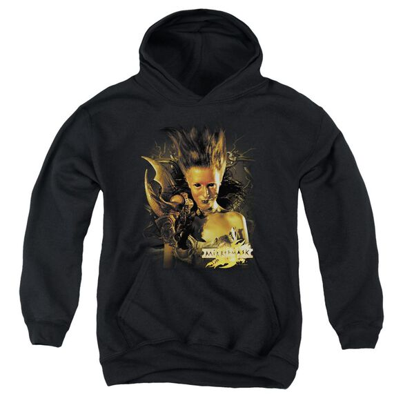 Mirrormask Queen Of Shadows Youth Pull Over Hoodie