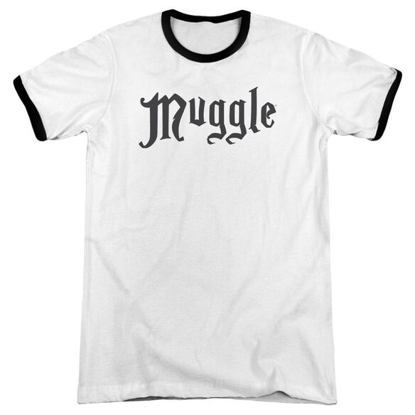 Harry Potter Muggle Adult Ringer White