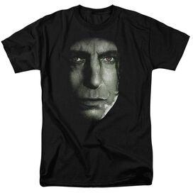 Harry Potter Snape Head Short Sleeve Adult T-Shirt