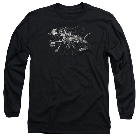 Batman Begins Night Natives Long Sleeve Adult T-Shirt