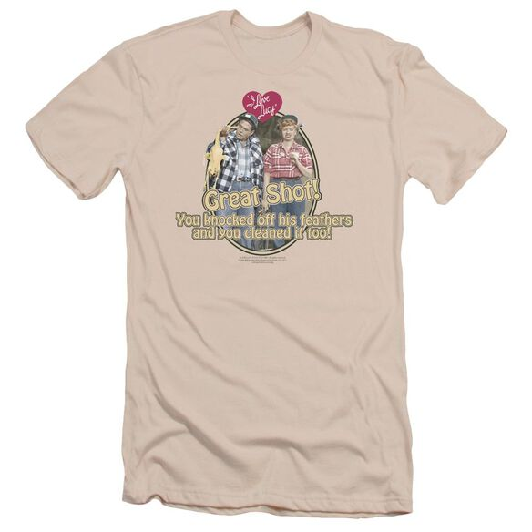 I Love Lucy Great Shot Short Sleeve Adult T-Shirt