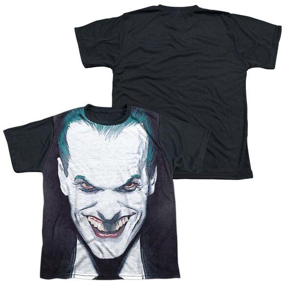 Batman Last Dance Short Sleeve Youth Front Black Back T-Shirt