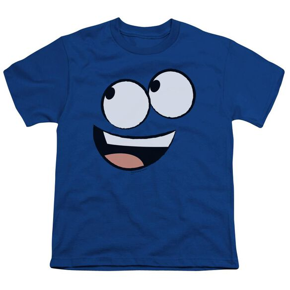 Foster's Face Short Sleeve Youth Royal T-Shirt