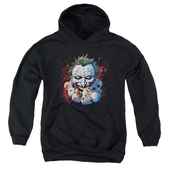 Jla Doll Heads Youth Pull Over Hoodie