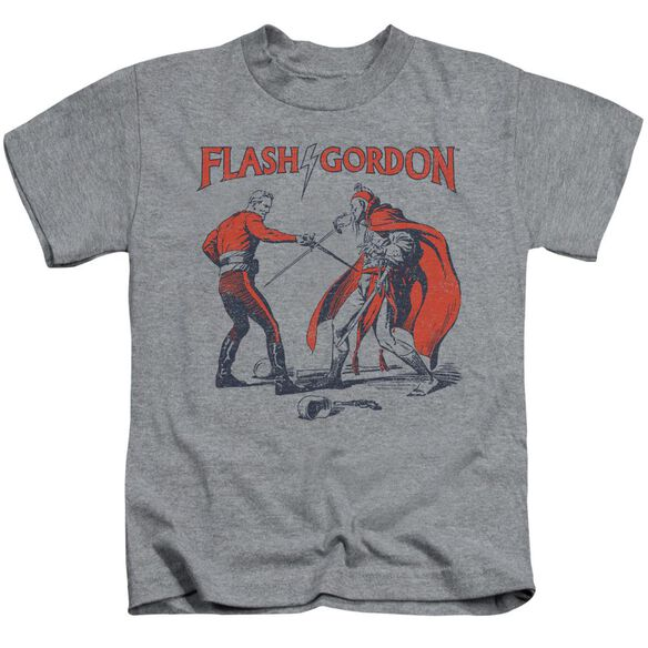 Flash Gordon Duel Short Sleeve Juvenile Athletic T-Shirt