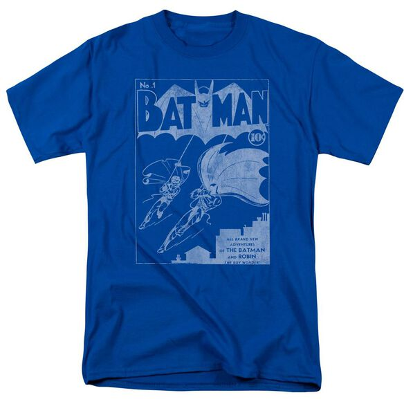Batman Issue 1 Cover Short Sleeve Adult Royal T-Shirt