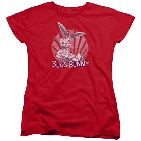 Looney Tunes Wishful Thinking Short Sleeve Womens Tee T-Shirt