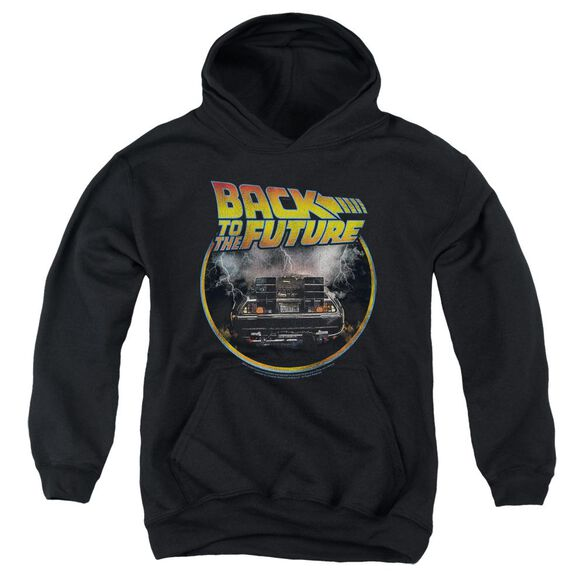 Back To The Future Back Youth Pull Over Hoodie