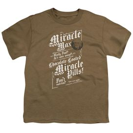 Princess Bride Miracle Max Short Sleeve Youth Safari T-Shirt