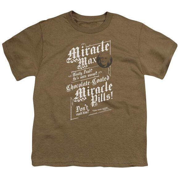 Princess Bride Miracle Max Short Sleeve Youth Safari T-Shirt