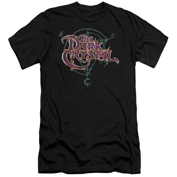 Dark Crystal Symbol Logo Short Sleeve Adult T-Shirt