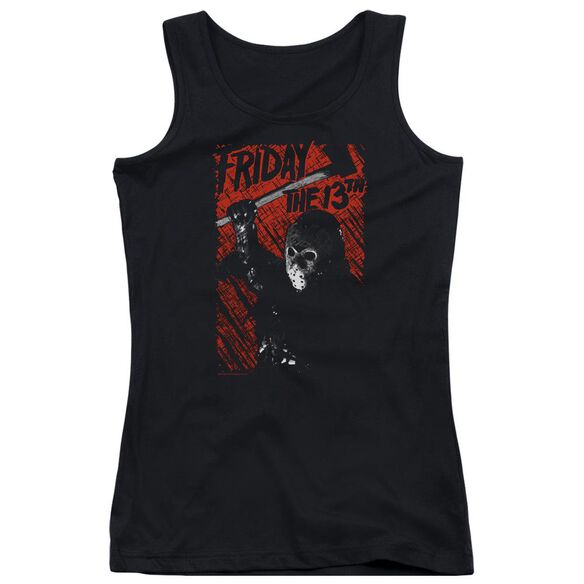 Friday The 13 Th Jason Lives Juniors Tank Top