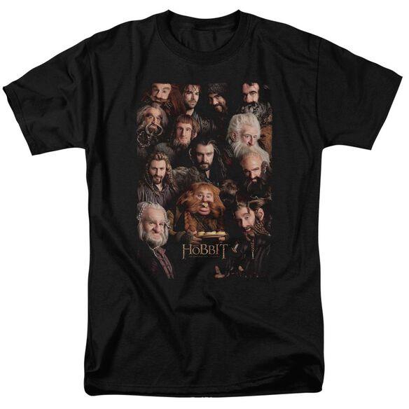 The Hobbit Dwarves Poster Short Sleeve Adult T-Shirt