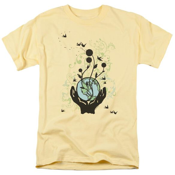Everything Connected Short Sleeve Adult Banana T-Shirt