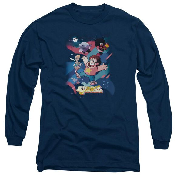 Steven Universe Group Shot Long Sleeve Adult T-Shirt