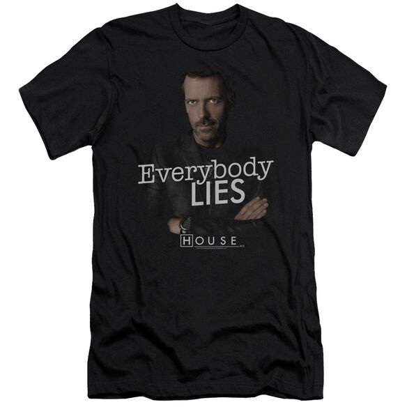 House Everybody Lies Short Sleeve Adult T-Shirt