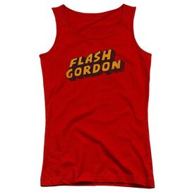 Flash Gordon Logo Juniors Tank Top