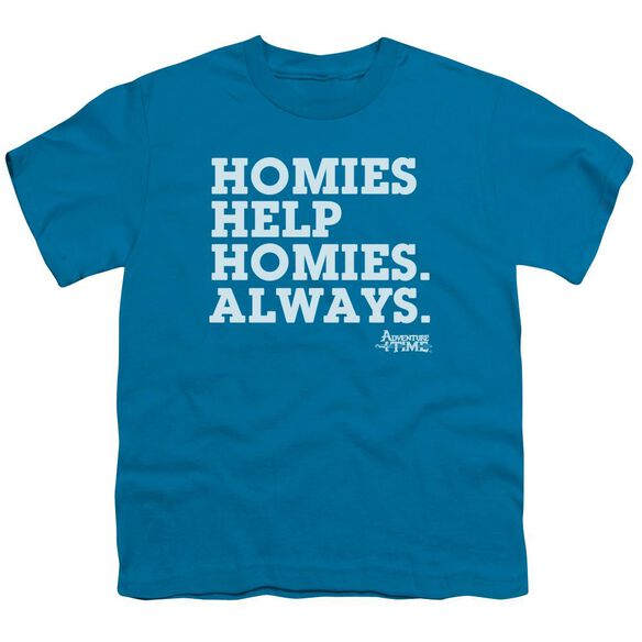 Adventure Time Homies Help Homies Short Sleeve Youth T-Shirt