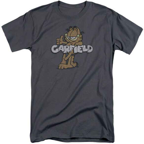 Garfield Retro Garf Short Sleeve Adult Tall T-Shirt