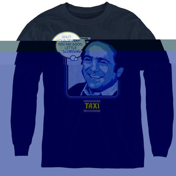 Taxi Shut Your Trap - Youth Long Sleeve Tee - Navy