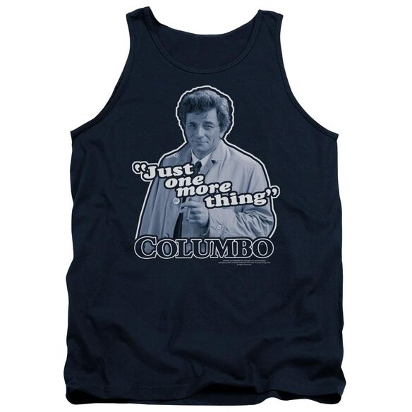 Columbo Just One More Thing Adult Tank