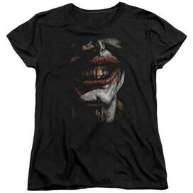 Joker Evil Smile Ladies T-Shirt