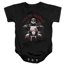 Sons Of Anarchy Ride On Infant Snapsuit Black