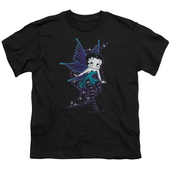 Betty Boop Sparkle Fairy Short Sleeve Youth T-Shirt