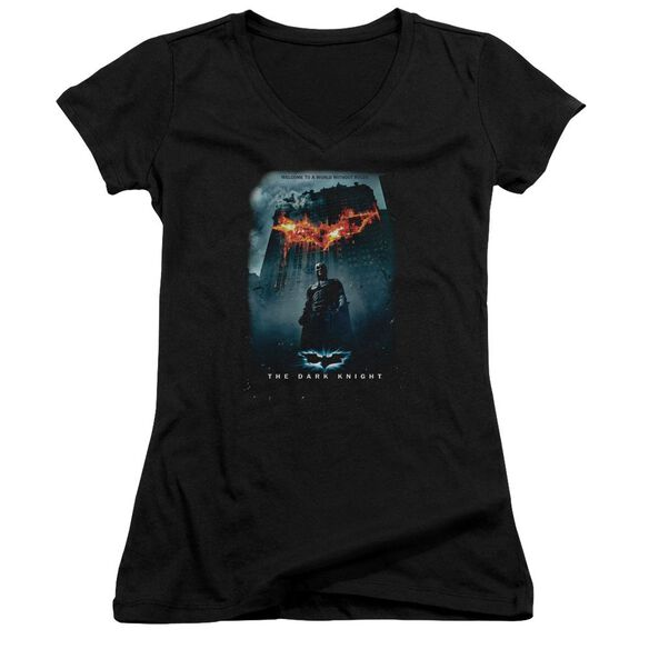Dark Knight Without Rules Poster Junior V Neck T-Shirt